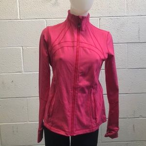 Lululemon rose pink Define jacket sz 8 62708